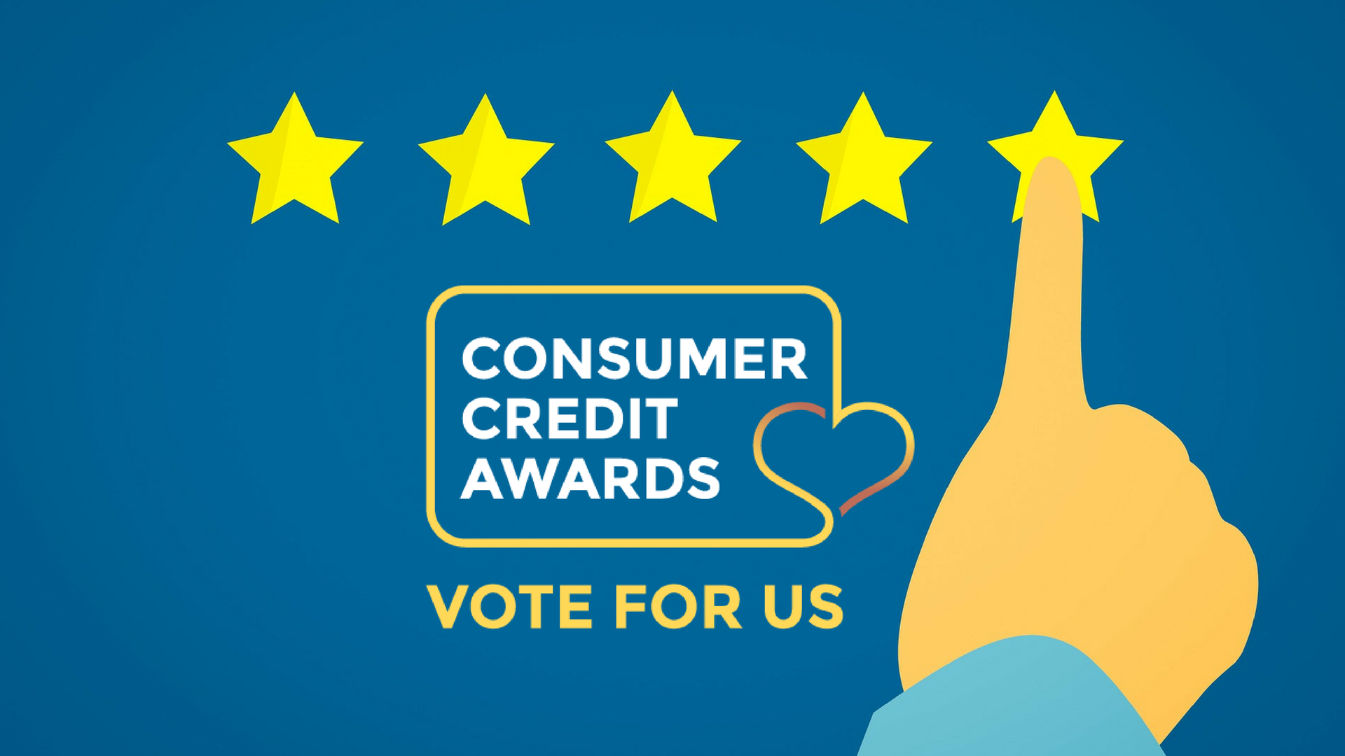 Vote for PiggyBank in the Consumer Credit Awards and you could win £1000!