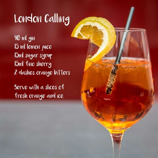 London Calling cocktail recipe