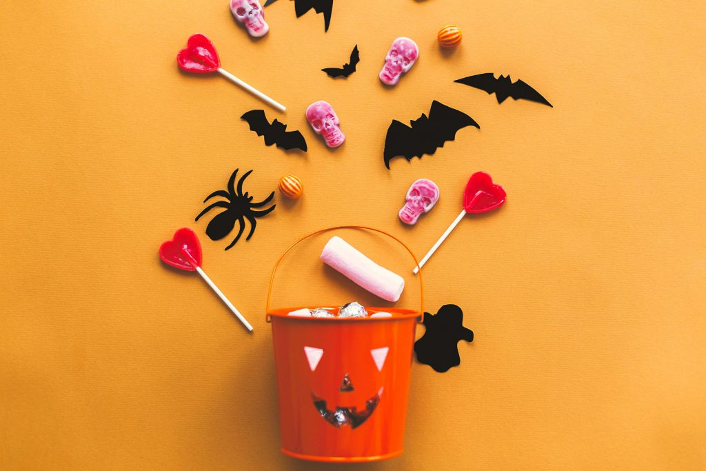 Halloween candy and sweets